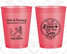 Frosted Plastic Cups, Shatterproof Cups, Frost Flex Cups, Custom Frosted Cups, Frosted Cups, Personalized Frosted Cups (495)