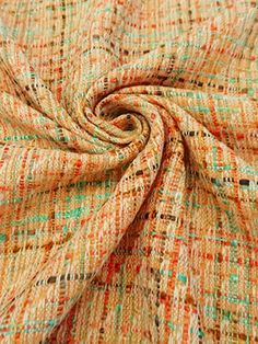 Fabric Mart :: Sales / Clearance :: Suiting Blowout :: Peach/Turquoise/Multi 100% Poly Boucle 56W