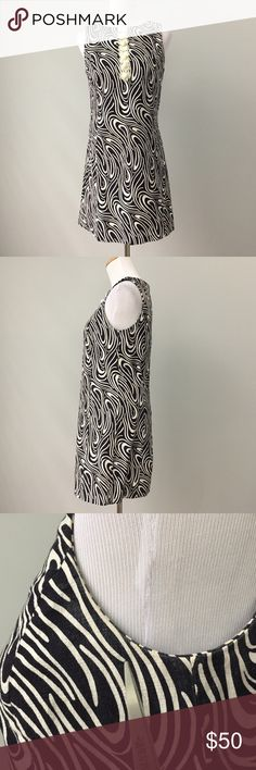 """Tibi New York Dress Adorable dress with crochet trim and buttons! There are some marks around the pit area. The rest of the dress is in great used condition. There is a ton of wear left to the dress.   Approximate measurements: Total Length: 32"""" Pit to Pit: 17.5"""" Tibi Dresses Mini"""
