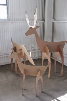 #deer #cardboard #christmas #christmasiscoming #decoration