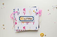 martu alterada: Mini Album-garland:: That Summer