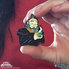 Iroh has seen a lot in his lifetime. A good man, living under a tyrannical nation, Iroh does his best to teach his nephew there is to life than he thinks. Soft Enamel Pin Licensed pin of Avatar: The Last Airbender measures an estimated inches in height Jacket Pins, Iroh, Diy Pins, Cool Pins, Pin And Patches, Avatar The Last Airbender, Cute Crafts, Pin Badges, Stickers