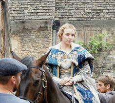 The White Princess bts - Jodie Comer Jacob Collins-Levy
