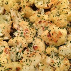 I want to try this Roasted Garlic Cauliflower from Skinny Points