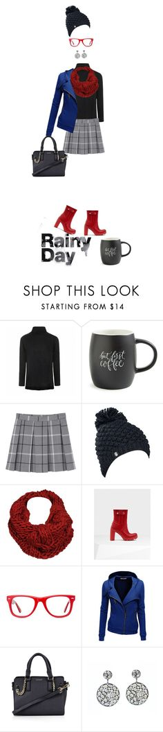 """Sem título #84"" by simonethe ❤ liked on Polyvore featuring Ally Fashion, Printable Wisdom, Monki, Spyder, Black Rivet, Hunter, Muse, Doublju, Topshop and BCBGMAXAZRIA"