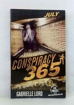 July by Gabrielle Lord Conspiracy 365 series young adult fiction used paperback