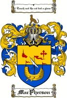 Macpherson Coat of Arms / Macpherson Family Crest