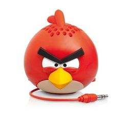 Gear4 Angry Birds Classic Mini #Speaker. Want it? Own it? Add it to your profile on unioncy.com #tech #gadgets #electronics #gear #iphone #android