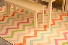 A New Playroom Rug- Mohawk Rug Review and Giveaway - It Happens in a Blink