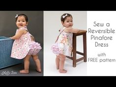 FREE Baby Pinafore and Bloomers Pattern - Melly Sews