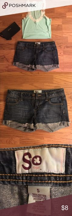 5️⃣➡️🔟 Cut off jean shorts LAST CHANCE!! This item is eligible for the five items for only $10 deal! Any item with a 5️⃣➡️🔟 in the title is eligible. Please comment and ask for separate bundle listing for this deal! Shorts Jean Shorts