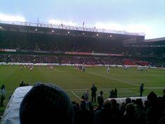 Nottingham Forest vs Sheffield United It was friezing. Nottingham Forest, Sheffield United, United Kingdom, The Unit, England