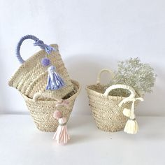 Mini capazo niña / Mini basket for kids