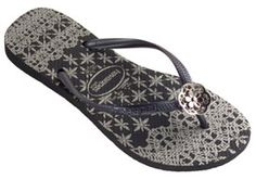f4168669d Check out the deal on havaianas slim lace  black at Agua Viva USA Beach  Shoes