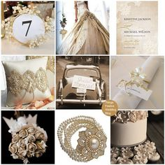 Pearl Wedding Centerpiece Ideas | ... Festive Wedding Blog: Vintage Wedding Theme - Vintage Lace and Pearls