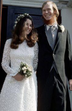 Kathleen Hartington Kennedy and David Lee Townsend _ November 17, 1973