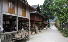 Traveling in northern Vietnam - Mai Chau. www.north-vietnam.com... #vietnam #trekking #travel #wander #maichau #wanderings #village #ethnic