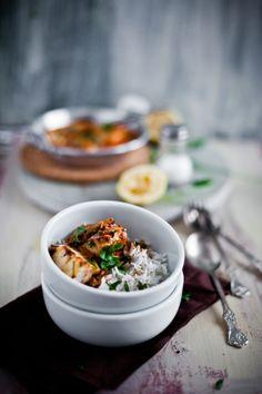 Poisson piquant au curry