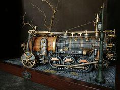 (81) Steampunk Tendencies - Art by Sakis Theodorou