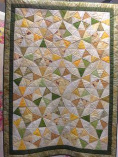 60. Kaleidoscope Cot Quilt  Kathleen McMahon
