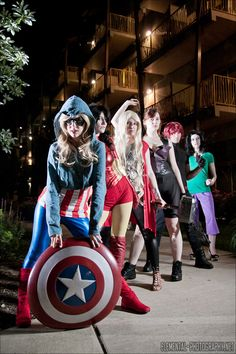 Gender swapped Avengers.