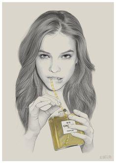 Por Amor al Arte: Dibujos de Kei Meguro.