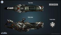 Alien Mini gun by VladMRK.deviantart.com on @DeviantArt