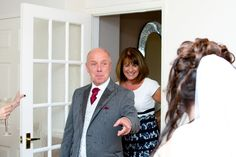 Saltash wedding photography - First look with Dad - this moment always fills my heart.