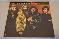 Vintage Record Oakridge Boys: American Made Album MCA-5390