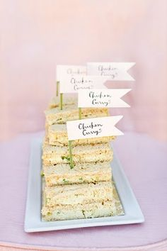 bridal shower « Search Results « Laura Hooper bridal shower tea party (good idea for baby shower? Party Sandwiches, Girls Tea Party, Tea Parties, Canapes Catering, Tea Party Bridal Shower, Bridal Showers, Baby Showers, Bridal Shower Activities, Lunch Snacks