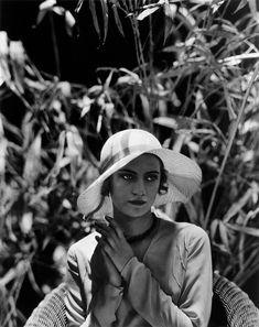 Edward Steichen, Lee Miller in Sun Hat, c. 1928.