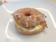 We couldn't wait for Dunkin's Glazed Donut Breakfast Sandwich to go national, so we got the raw materials and made our own.