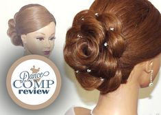 """Today's Hairstyle inspiration is coming from flowers. The Rose, to be exact! """"The Hair Rose"""" - Hairstyle Tutorial"""