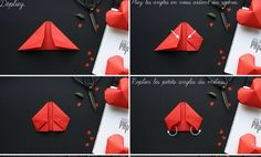 How to fold a 3D heart #4