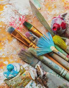 Paint Photography, Creative Photography, Creation Image, Art Hoe Aesthetic, Best Business Ideas, My Art Studio, Paint Brushes, Paint Brush Art, Art Studios