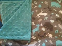 Great tips on how to sew with minky fabric.