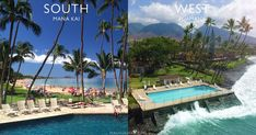 The following four pages on the bulleted list below divide my reviews and photos of Maui hotels