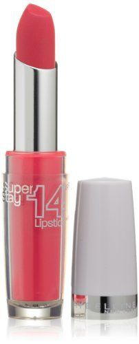 Maybelline New York Superstay 14 hour Lipstick, Ravishing Rouge, 1 Count Rose Lipstick, Long Wear Lipstick, Natural Lipstick, Long Lasting Lipstick, Pink Lipsticks, Matte Lipstick, Maybelline Makeup, Maybelline Superstay, Grey White Hair