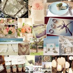 A sample of one of my own wedding mood boards xx