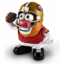 Amazon.com: NFL San Francisco 49ers Mr. Potato Head: Sports & Outdoors