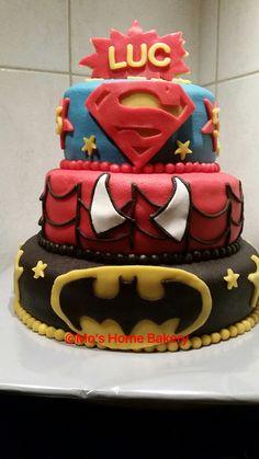 Marvel superhelden taart