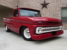1966 Chevrolet Pick-Up Chevy C10, 1966 Chevy Truck, Classic Chevy Trucks, Chevy Pickups, Chevrolet Trucks, Classic Cars, Lowered Trucks, Gm Trucks, Cool Trucks