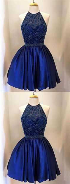 Prom Dress For Cheap, Homecoming Dresses For Girls, Navy Homecoming Dresses, Prom Dress Prom Dress Blue Homecoming Dresses 2018 Royal Blue Homecoming Dresses, Prom Girl Dresses, Cheap Homecoming Dresses, Blue Evening Dresses, Dresses Short, Royal Blue Dresses, Dress Prom, Navy Blue Quinceanera Dresses, Inexpensive Bridesmaid Dresses