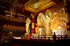 Buddha Tooth Relic Temple and Museum- Singapore