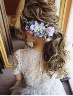 Hairstyles For Quinceanera Hairstyles for Brides of Actuality Montilla Dress Hairstyles, My Hairstyle, Party Hairstyles, Bride Hairstyles, Trendy Hairstyles, Bridesmaid Bun, Quinceanera Hairstyles, Hairdo Wedding, Hair Arrange
