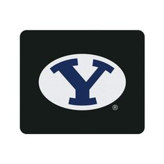 Brigham Young University Black Mouse Pad, Classic