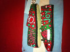Christmas Toms by:  Karen Laughlin