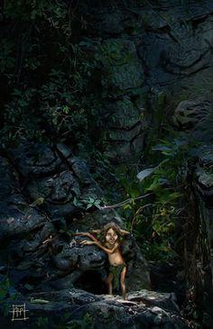 In een groot donker bos...