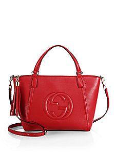 Gucci - Soho Leather Top Handle Bag