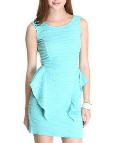 Holly Peplum Dress by Fashion Lab @ DrJays.com